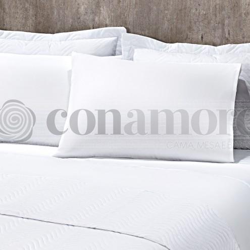 Fronha branca 180 fios - Confort Conamore Hotelaria